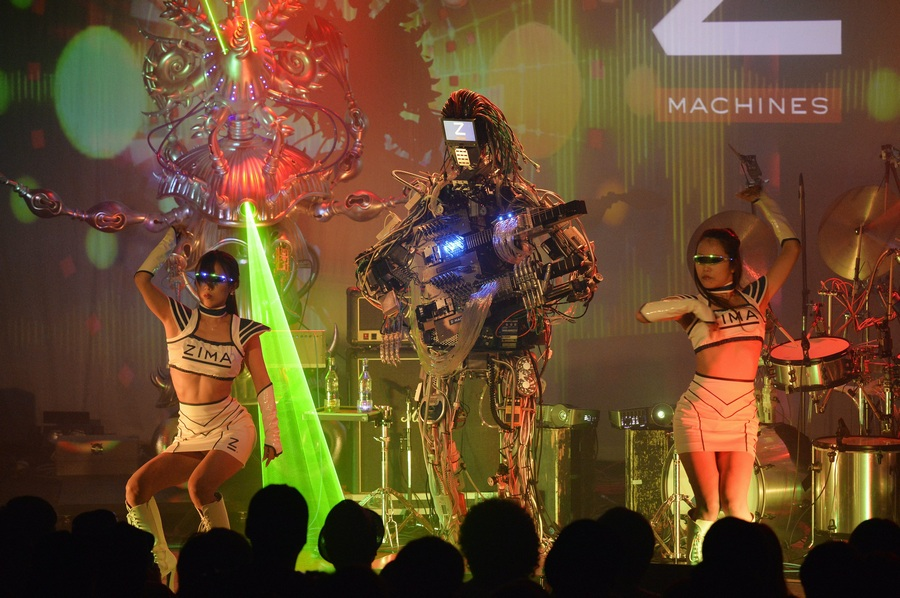 Дебют японских роборокеров (11 фото + HD-видео)