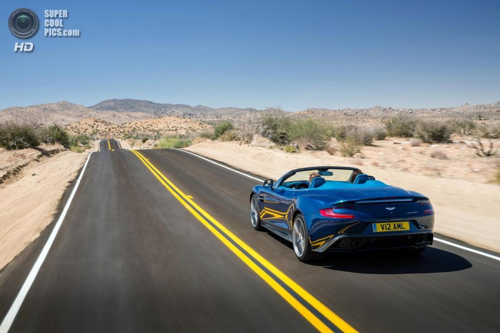 Aston Martin Vanquish Volante. (Aston Martin)