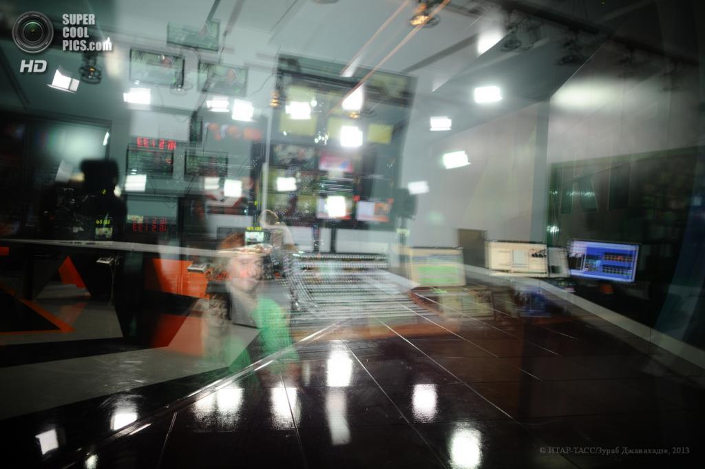 Россия. Москва. 10 июня. В офисе телеканала Russia Today. (ИТАР-ТАСС/Зураб Джавахадзе)