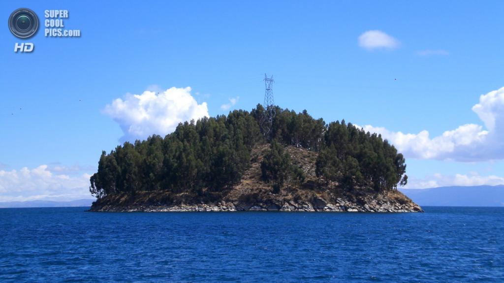 Боливийский островок Чельека площадью 2,1 кв. км. (Mandy)