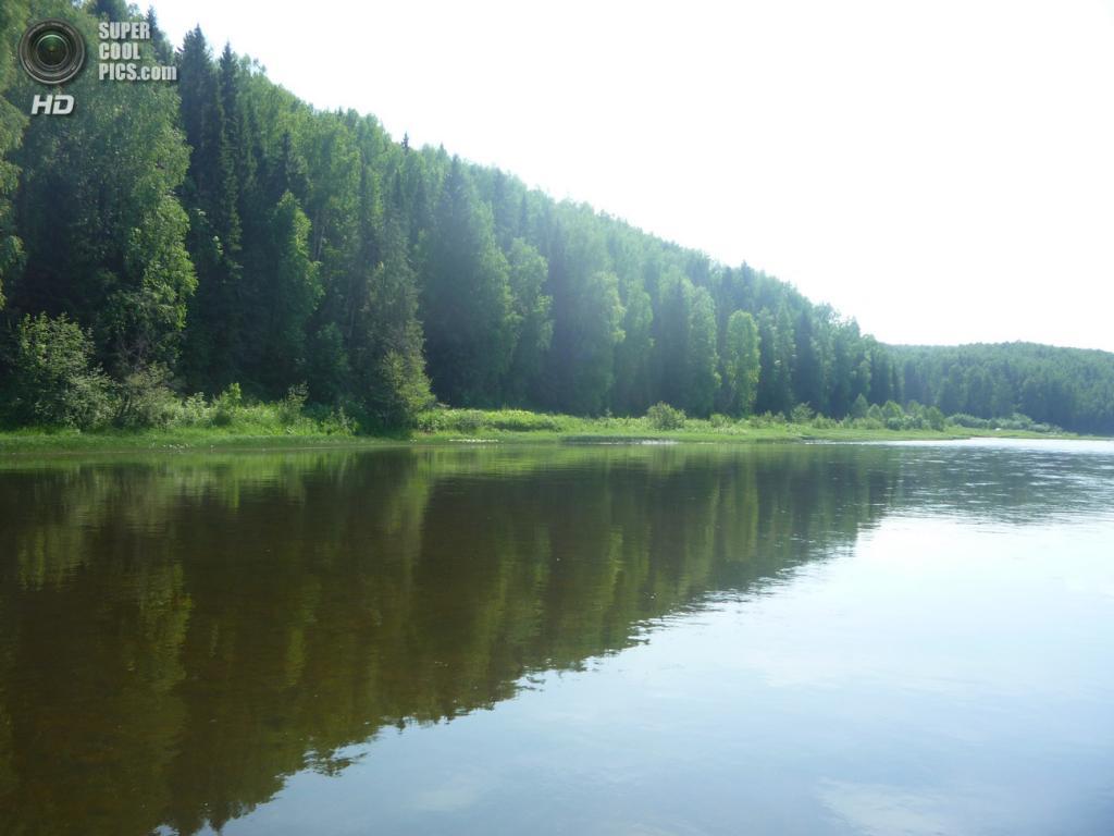 Россия. Пермский край. 22 июня. Река Усьва. (oksy-str)