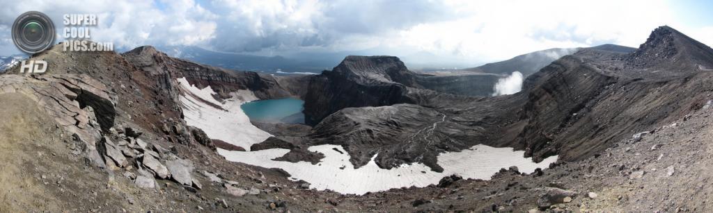 Вулкан Горелый. Последнее извержение — 2010 год. (Gistereziz)