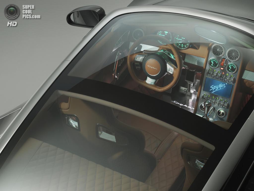Spyker B6 Venator. (Spyker N.V.)