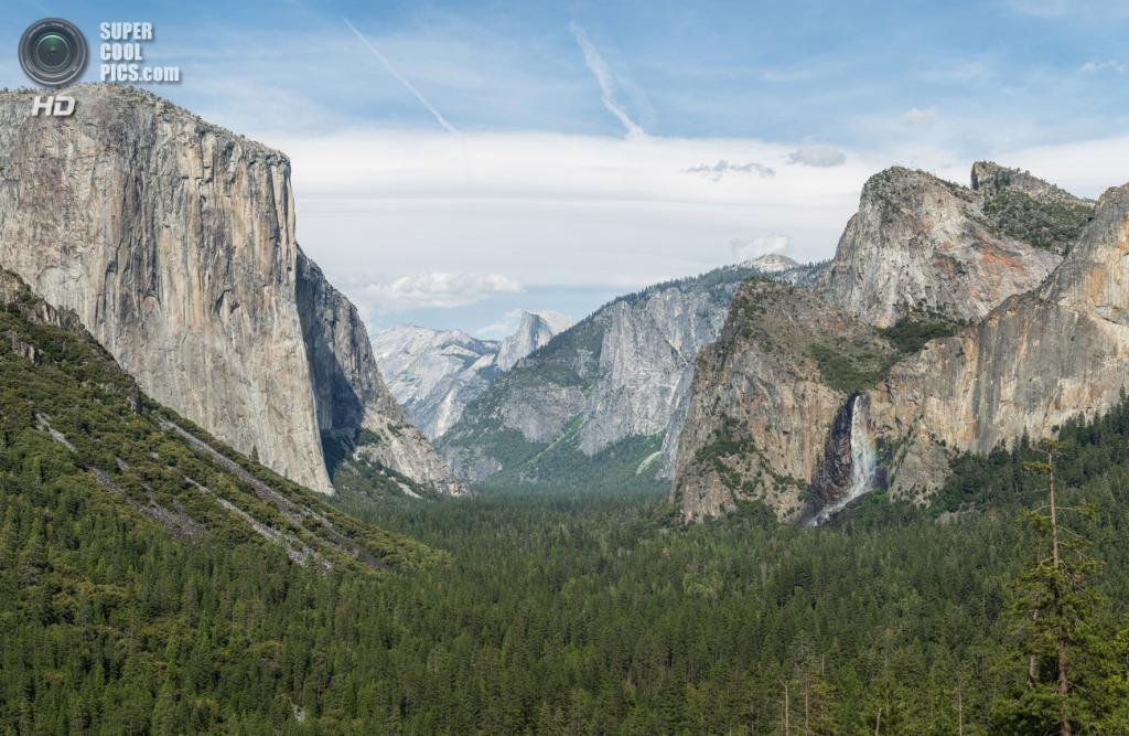 США. Калифорния. Долина Национального парка Йосемити. (Diliff)