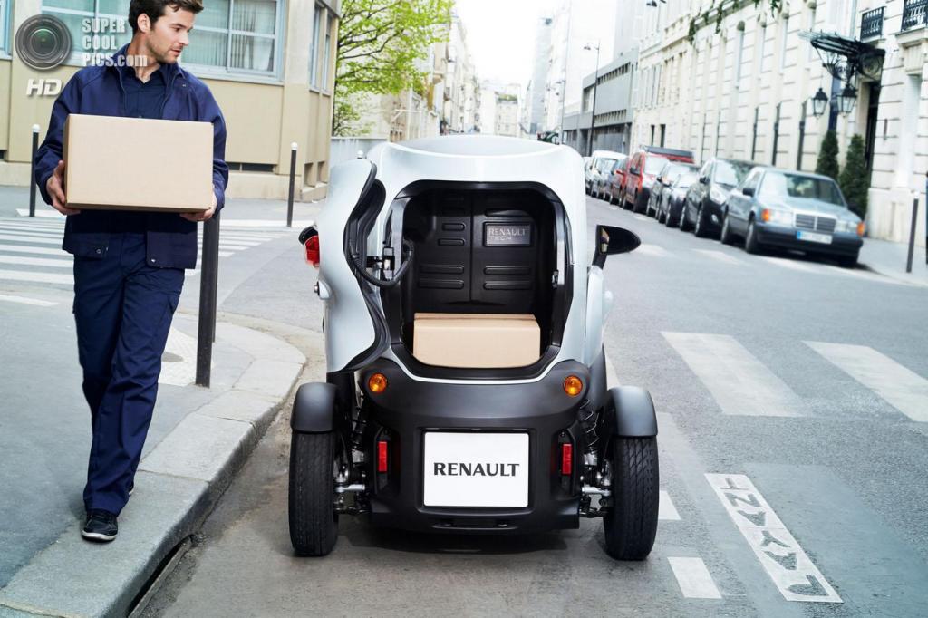 Renault Twizy Cargo. (Renault)