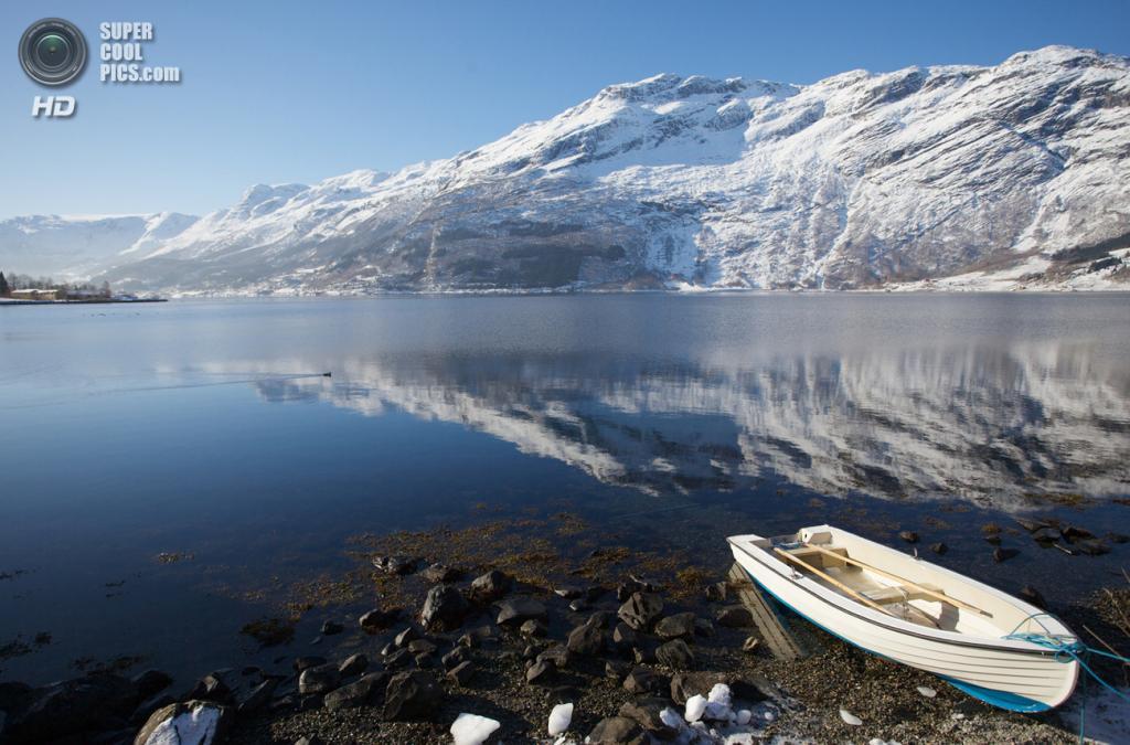 Норвегия. Хардангер-фьорд. (Ingve Moss Liknes)