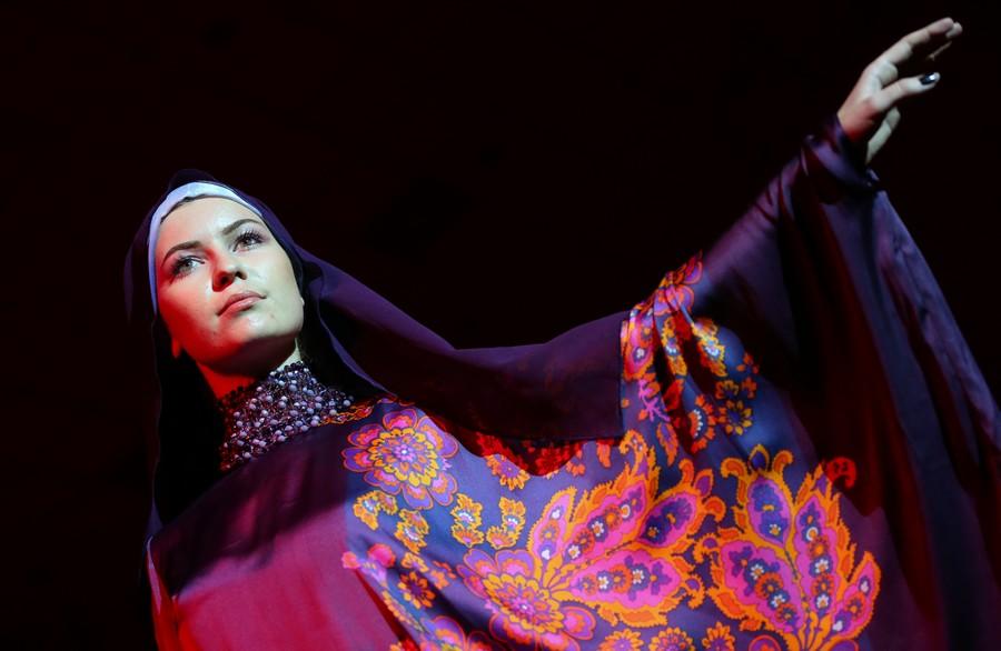 Пропаганда хиджаба в Москве (12 фото)