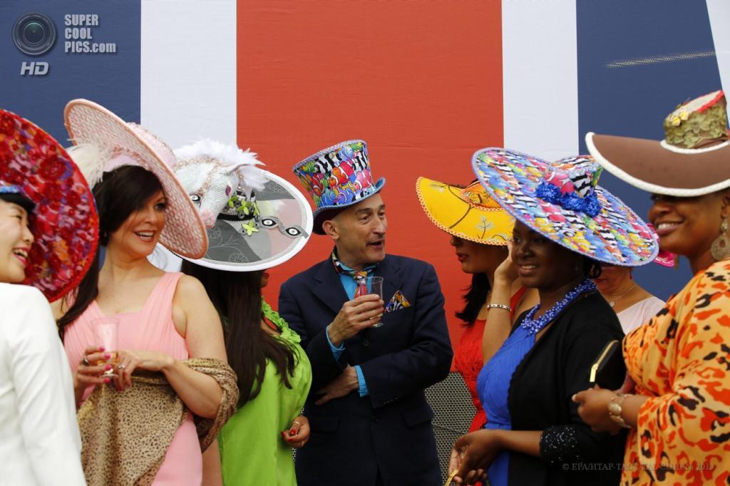 Великобритания. Аскот, Беркшир. 18 июня. Во время открытия «Royal Ascot». (EPA/ИТАР-ТАСС/TAL COHEN)