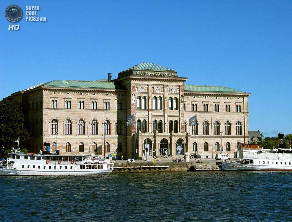 Швеция. Стокгольм. Национальный музей, содержащий около 16 000 полотен и скульптур, примерно 30 000 объектов художественного ремесла, а также графическую коллекцию мирового значения. (Jonas Bergsten)