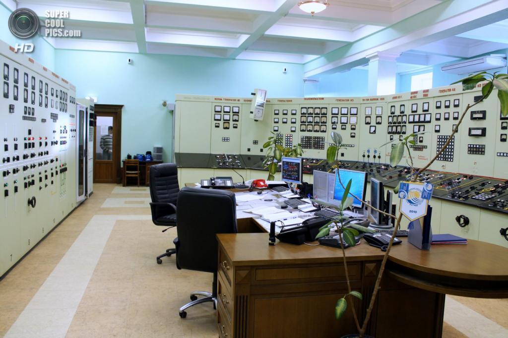 ЦПУ Рыбинской ГЭС. (Сайга20К)