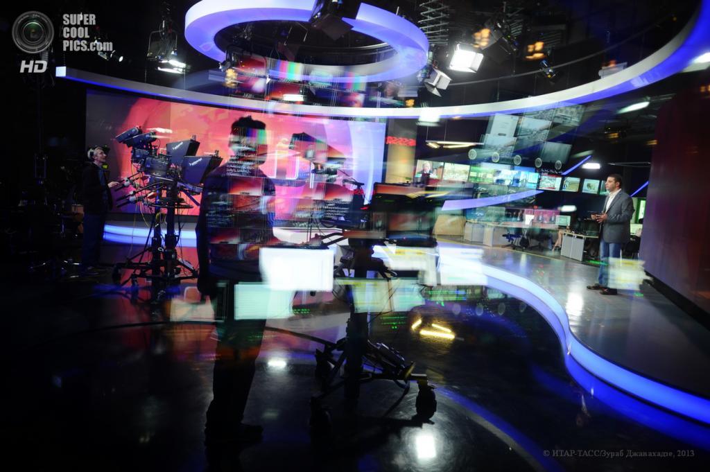Россия. Москва. 10 июня. Арабская студия телеканала Russia Today. (ИТАР-ТАСС/Зураб Джавахадзе)