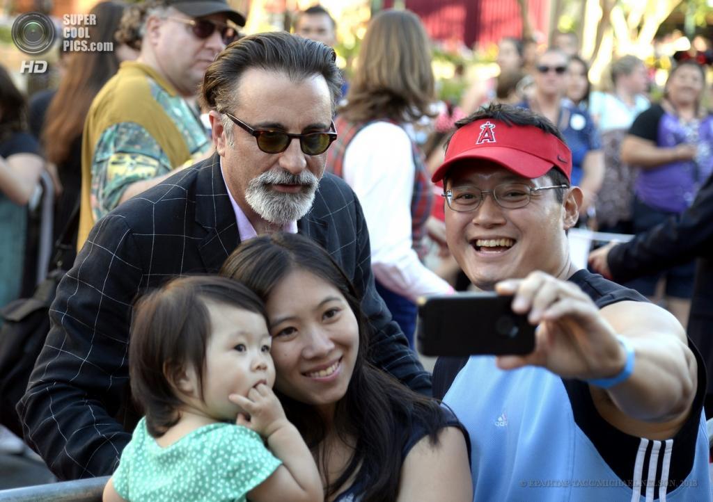 США. Анахайм, Калифорния. 22 июня. Актер Энди Гарсиа в качестве гостя. (EPA/ИТАР-ТАСС/MICHAEL NELSON)