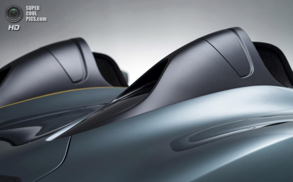 Aston Martin CC100 Speedster. (Aston Martin)