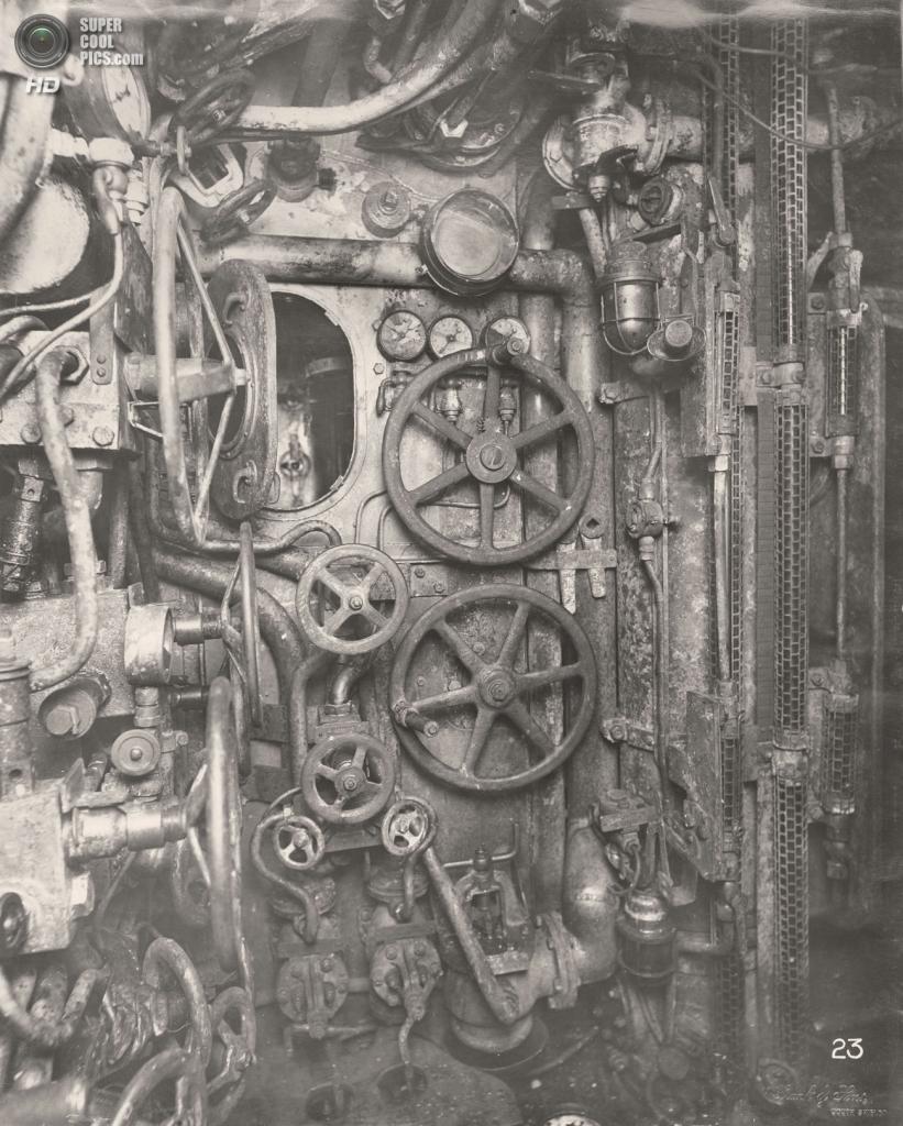 Великобритания. Уолсенд, Тайн-энд-Уир, Англия. 1918 год. Центральный пост. (Tyne & Wear Archives & Museums)