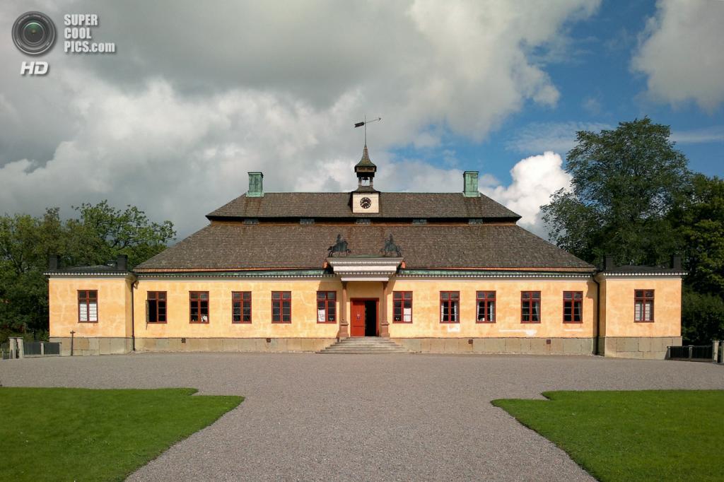Швеция. Стокгольм. Поместье Скогахольм, построенное в 1680 году. Входит в состав музея под открытым небом Скансен. (Holger.Ellgaard)
