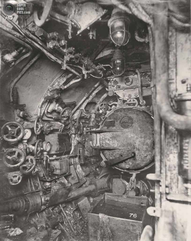 Великобритания. Уолсенд, Тайн-энд-Уир, Англия. 1918 год. Торпедный отсек. (Tyne & Wear Archives & Museums)