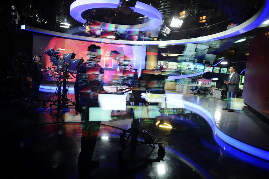 Новый студийный комплекс телеканала Russia Today (10 фото)