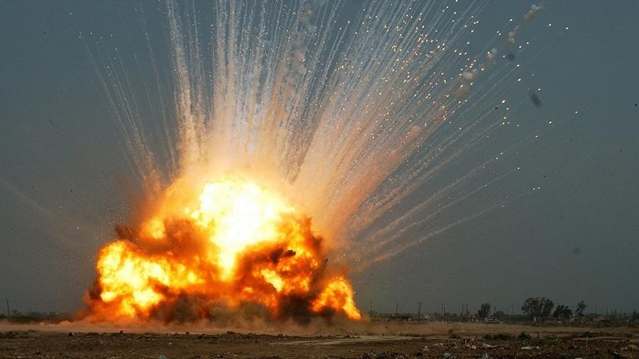 Казахстан. Байконур. 2 июня. Взрыв ракеты-носителя «Протон-М». (belovmedia)