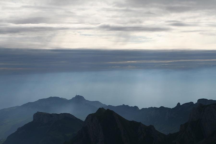 Туманное утро на Зентисе (7 фото)