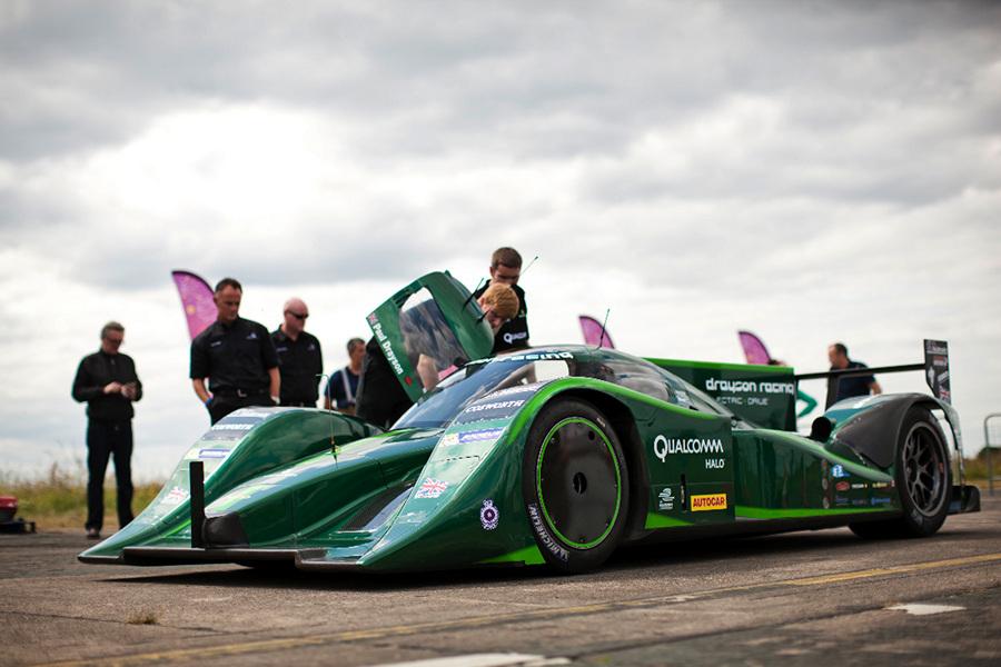 Lola Drayson B12/69 EV. (Drayson Racing)