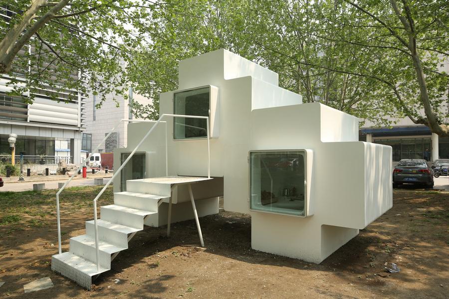 Пекинские микро-хаусы в стиле «Тетрис» (16 фото)