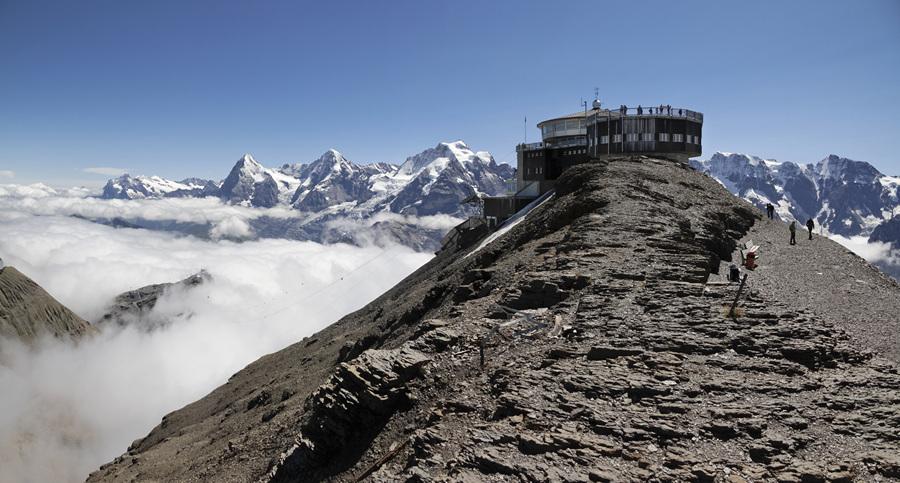 Альпийские красоты Шилтхорна (10 фото + HD-видео)