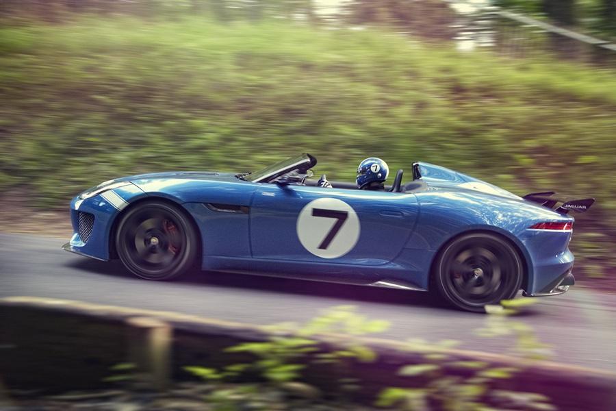 Project 7: Новый гоночный Jaguar (6 фото + HD-видео)