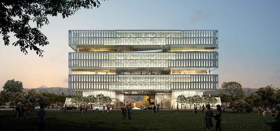 Новая штаб-квартира Samsung (4 фото)
