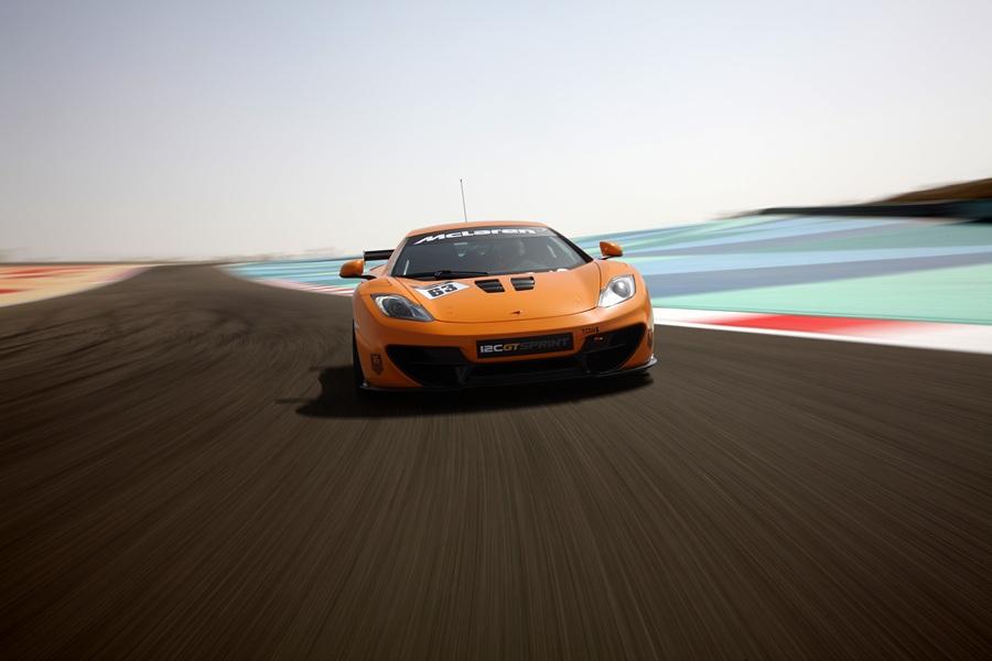 McLaren 12C GT Sprint. (McLaren)