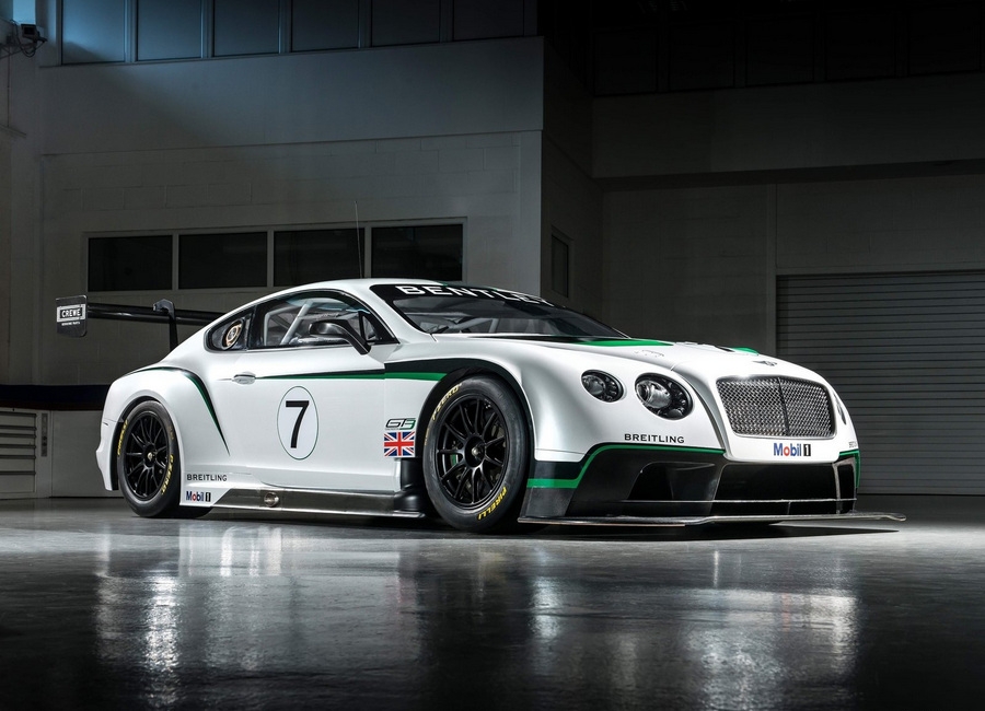Bentley Continental GT3 Racecar. (Bentley Motors)