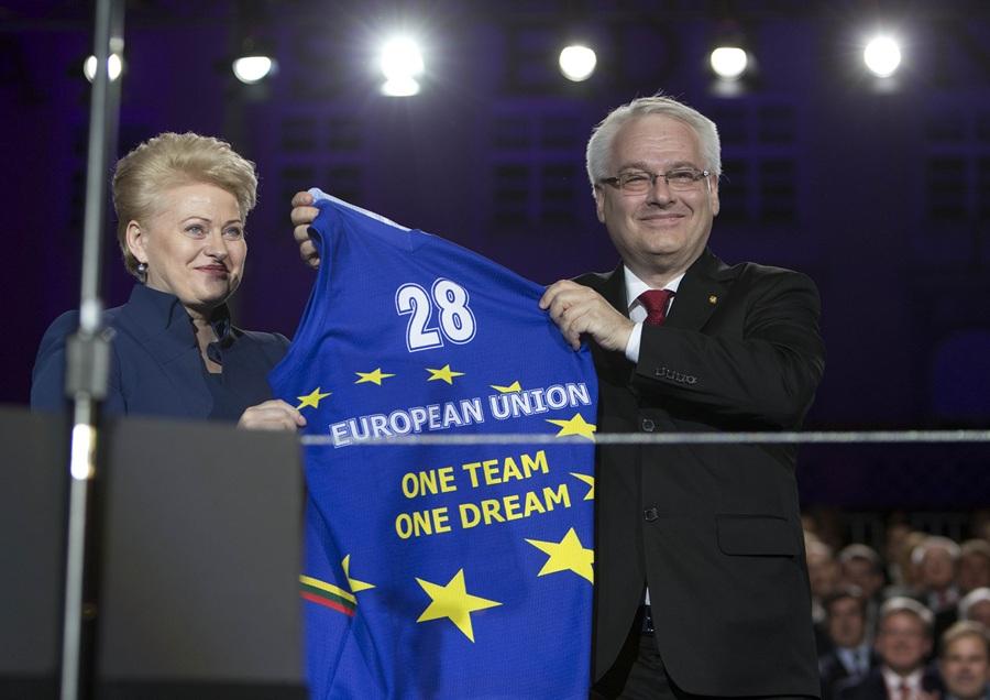 Хорватия — 28-й член Евросоюза (6 фото + HD-видео)