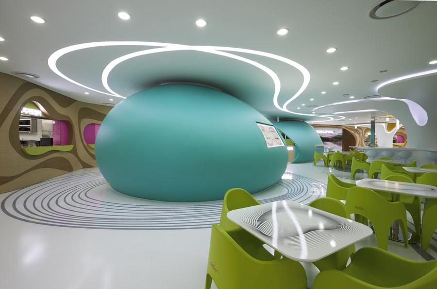 Южная Корея. Сеул. Ресторан «Lotte Amoje». (Lee Gyeon Bae)