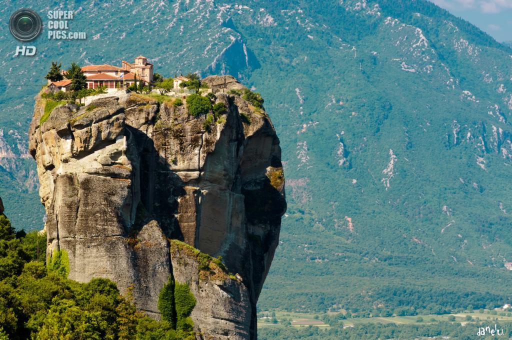 Греция. Монастырь Святой Троицы. (Danel Solabarrieta)