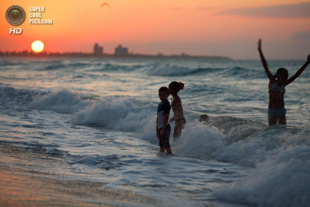 На пляже. (Pedro Moura Pinheiro)