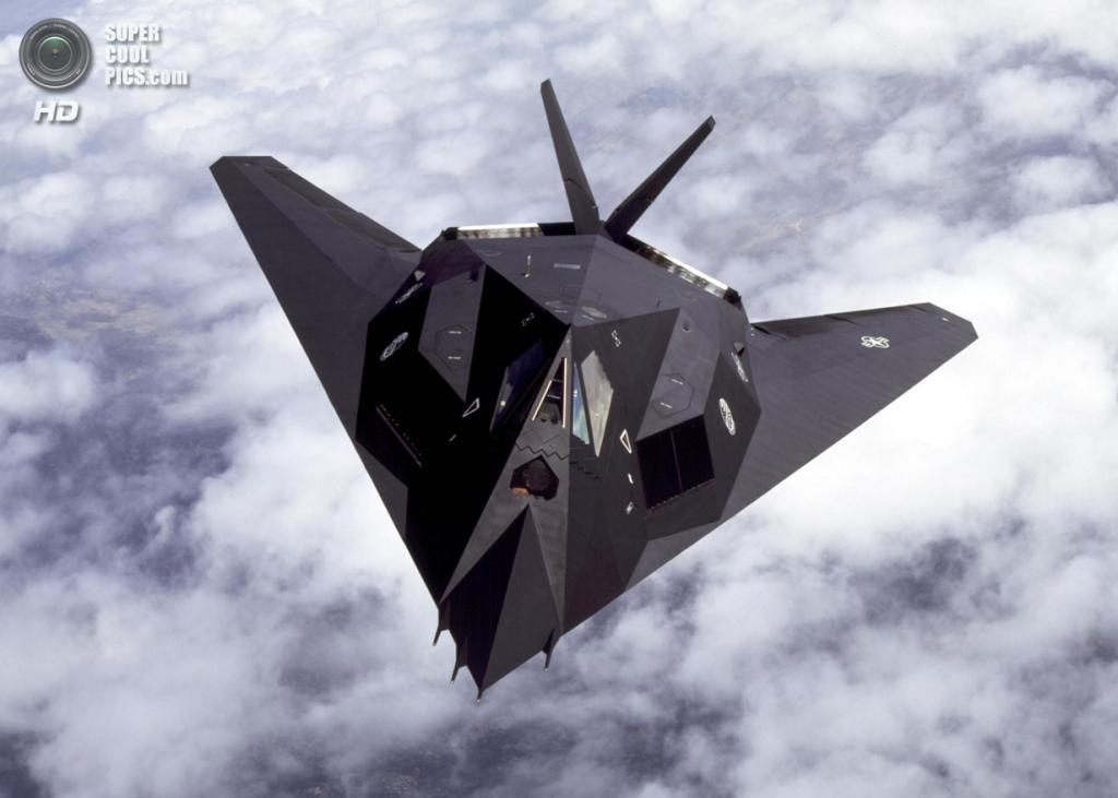Lockheed F-117 Nighthawk. (Lockheed Martin/Judson Brohmer)