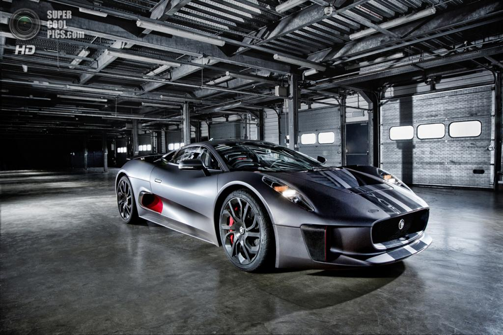 Jaguar C-X75 Prototype. (Jaguar Land Rover Ltd.)