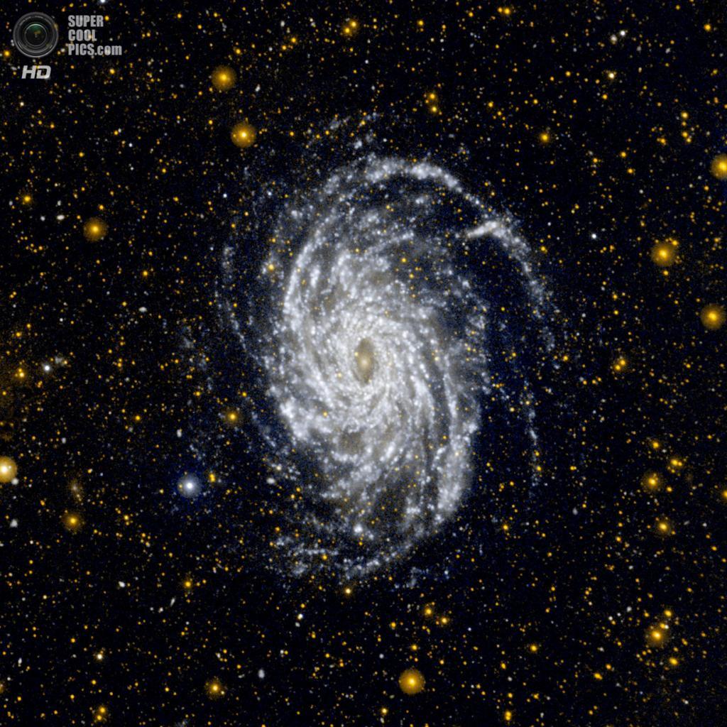 Галактика NGC 6744. (NASA/JPL-Caltech)
