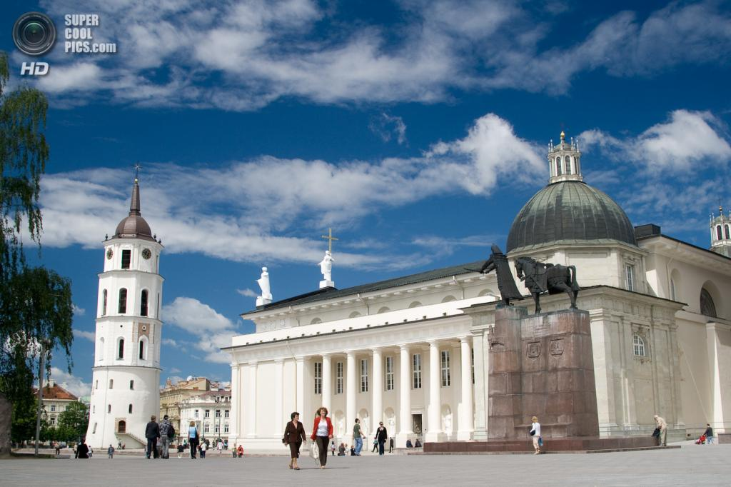 3-е место. Литва. Вильнюс. (Wikimedia Commons)