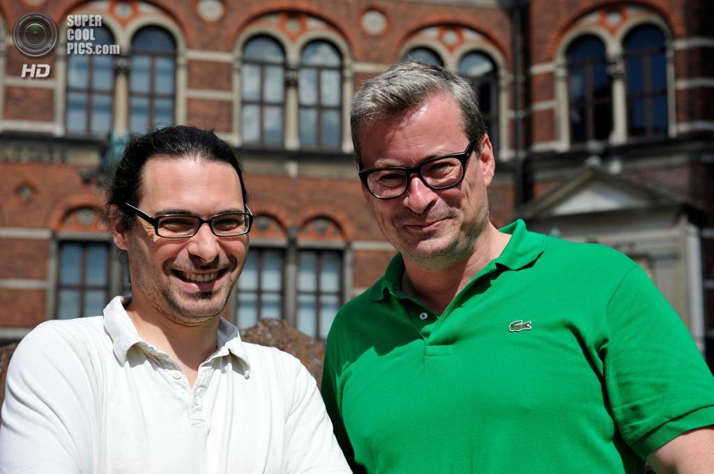 Автор исследования доктор Людовик Орландо (слева) и руководитель научной группы профессор Эске Виллерслев. (Uffe Wilken)