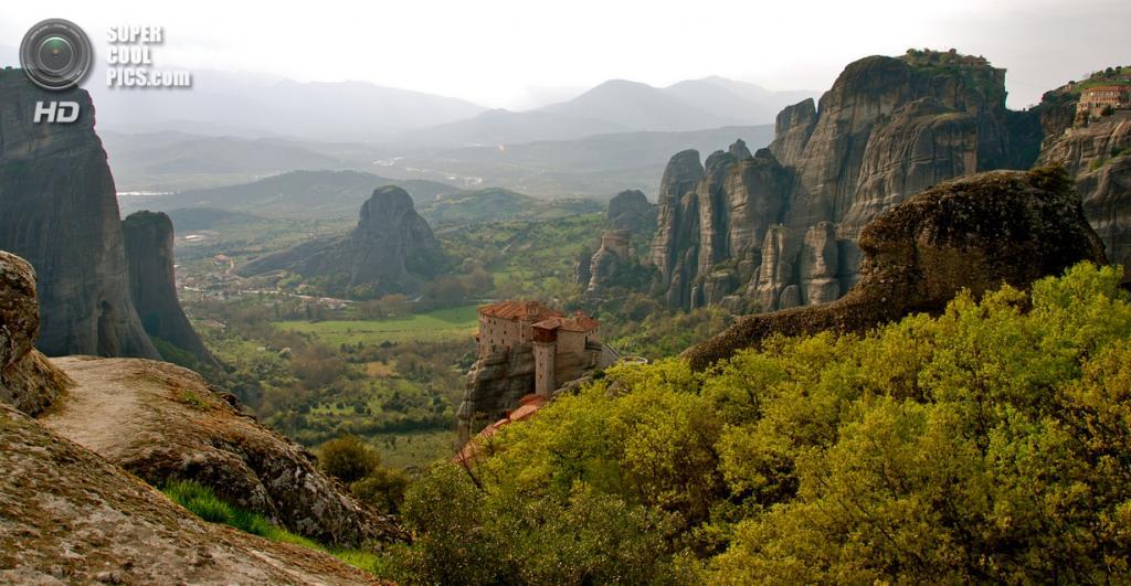 Греция. Монастырь Русану или святой Варвары. (Jaime Pérez )