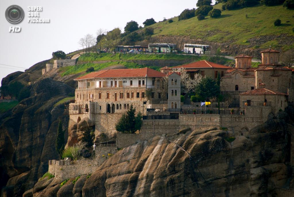 Греция. Монастырь Варлаама. (Jaime Pérez)