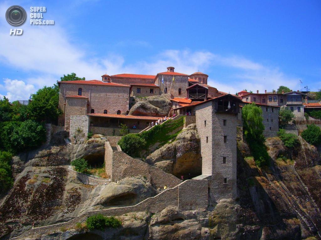 Греция. Преображенский монастырь (Великий Метеор). (Neil and Kathy Carey)