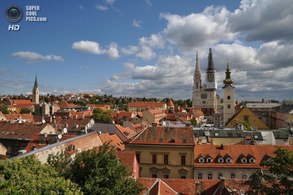 6-е место. Хорватия. Загреб. (Wikimedia Commons)