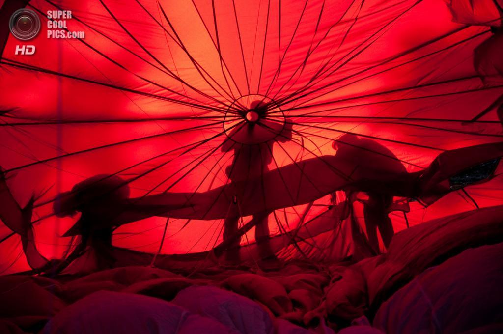 Испания. Игуалада, Каталония. Европейский фестиваль воздушных шаров. (Víctor)