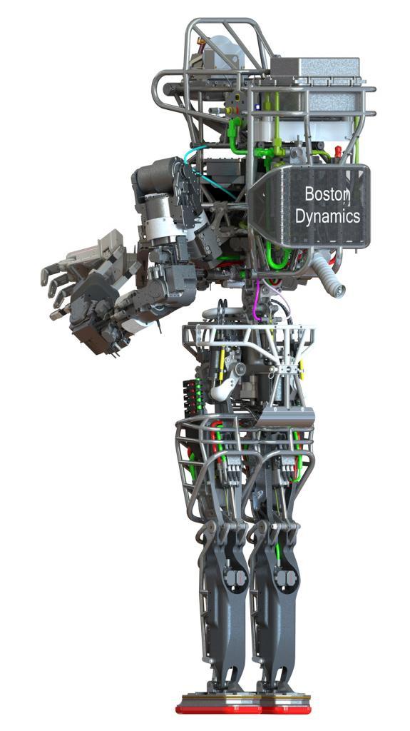 Робот ATLAS. (DARPA/Boston Dynamics)
