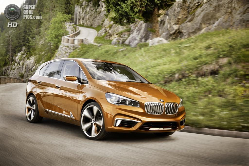 BMW Concept Active Tourer Outdoor. (BMW AG)