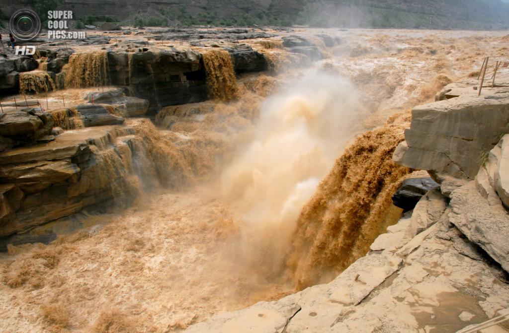 Водопад Хукоу. (Leruswing)