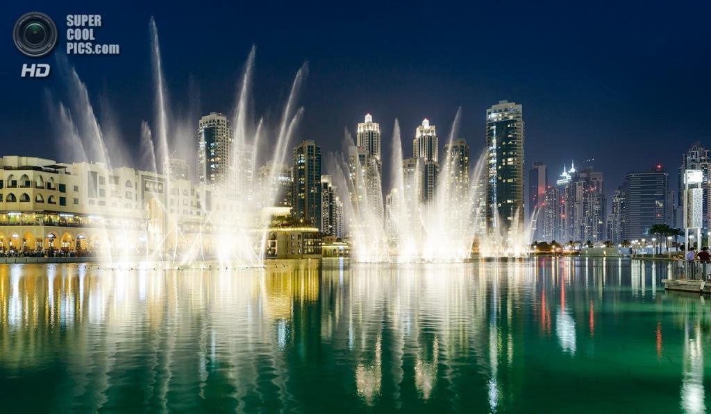 Объединенные Арабские Эмираты. Дубай. Музыкальный фонтан «Дубай». (Tomasz Szulczewski)