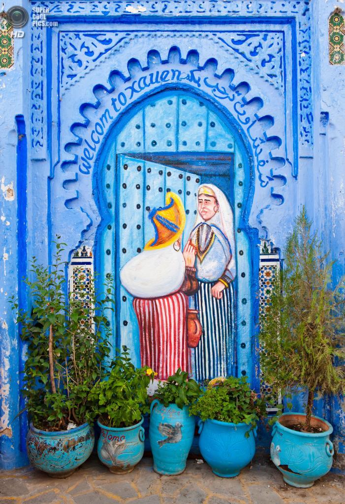 Марокко. Шефшауен. (Ronald Santerre)
