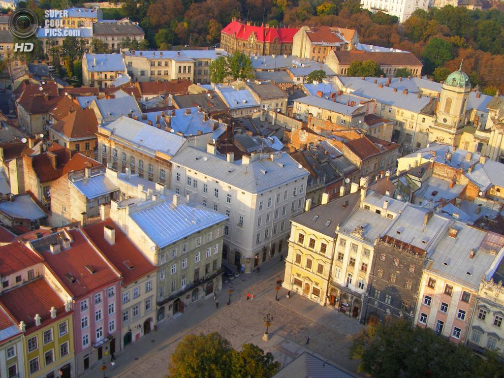 1-е место. Украина. Львов. (Wikimedia Commons)